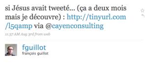 tweet fguilot