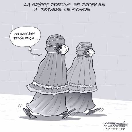 grippe A taliban